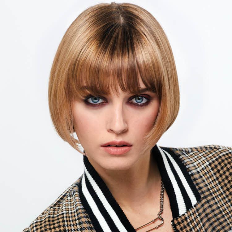 Coupe et coiffure cheveux mi-longs SHAMPOO - Automne-hiver 2019-2020.