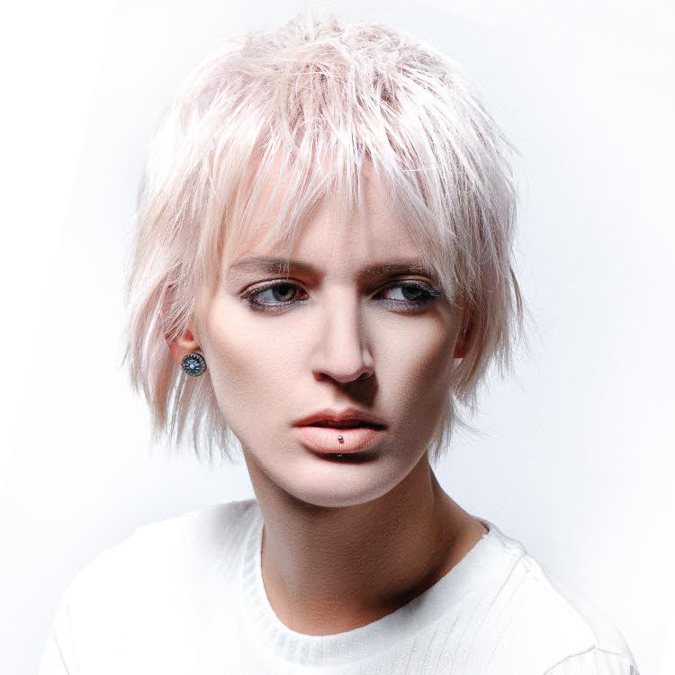 Coupe et coiffure cheveux courts - REVLON Professionnel - Automne-hiver 2019-2020.