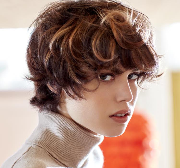 Coupe et coiffure cheveux courts - INTERMEDE - Automne-hiver 2019-2020.