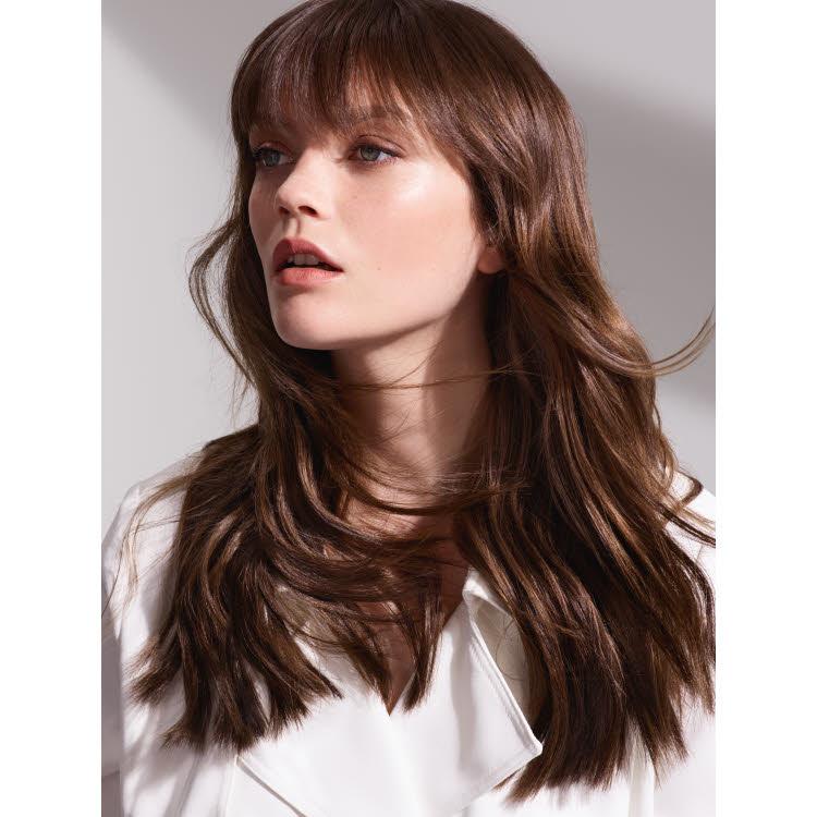 Coupe et coiffure cheveux longs DESSANGE Paris - Automne-hiver 2019-2020.