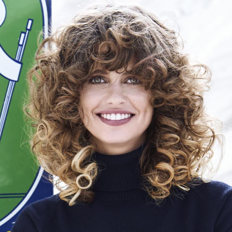 Coupe et coiffure cheveux longs Jean-Louis DAVID - Automne-hiver 2019-2020.