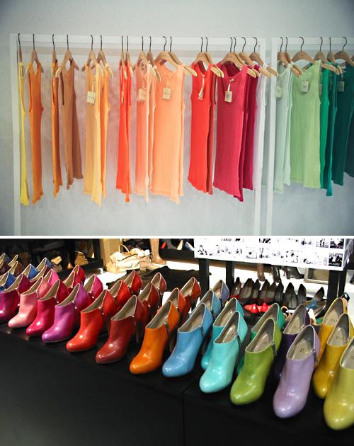 tendance mode de l'automne-hiver 2012/2013 : palette Pantone - Chaussures Noë