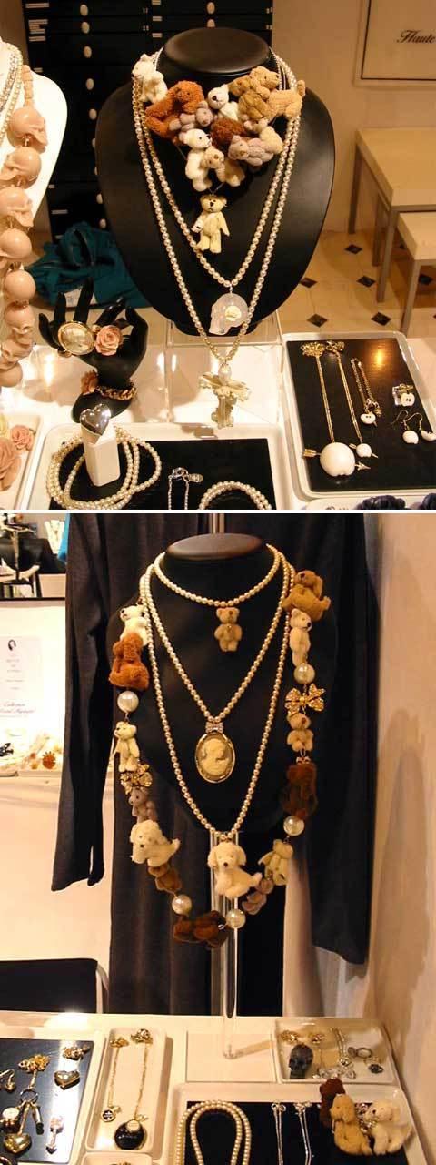 tendance mode de l'automne-hiver 2012/2013 : bijoux doux doux