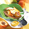 croustillant d'abricots