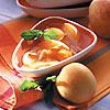 soupe glacée abricots pêche