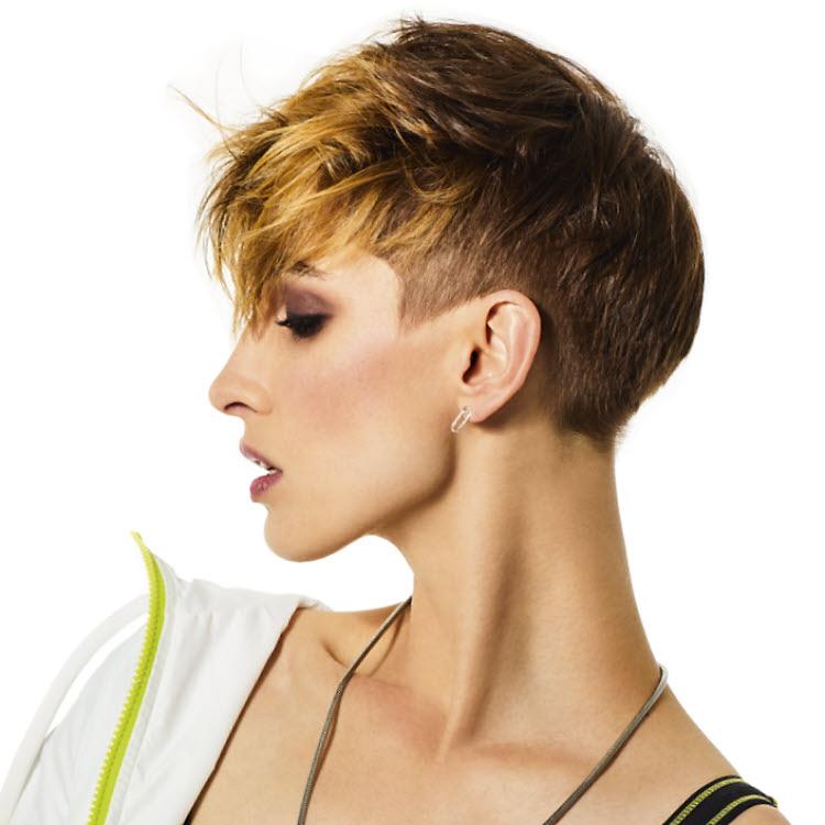 Coupe et coiffure cheveux courts - SHAMPOO Expert - Printemps-été 2020.