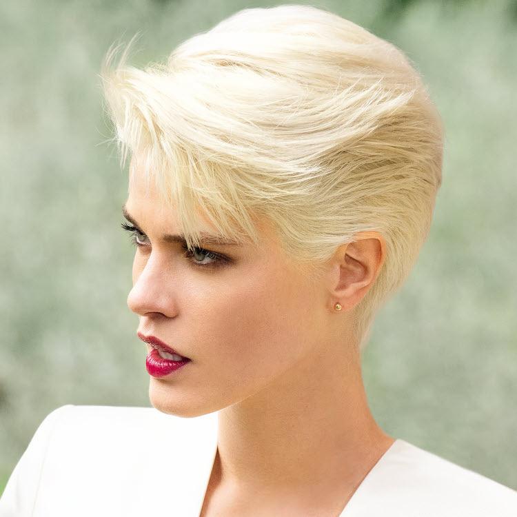 Coupe et coiffure cheveux courts - SAINT ALGUE - Printemps-été 2020.