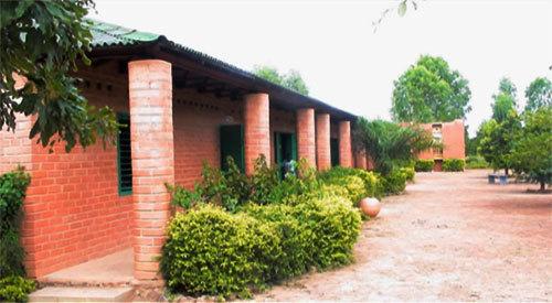 un lycée d'enseignement agricole au Burkina Faso