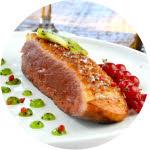 Magret de Canard sauce au Kiwi de l'Adour
