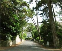 Les rues ombragées de La Baule