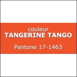 Couleur Tangerine Tango PANTONE 17-1463