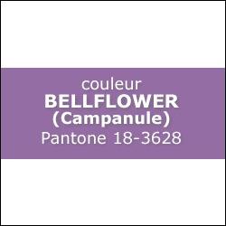 Couleur Bellflower PANTONE 18-3628
