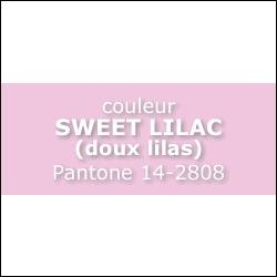 Couleur SWEET LILAC Pantone 14 -2808