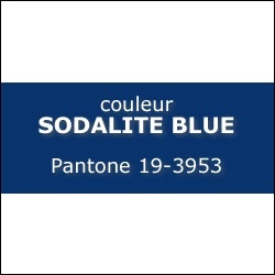 Couleur SODALITE BLUE Pantone 19-3953