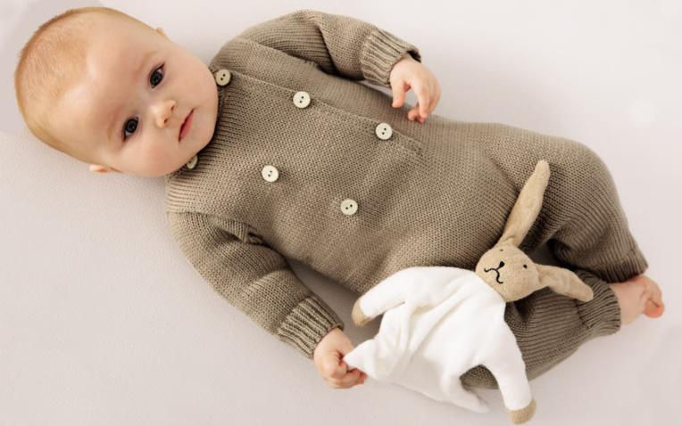 TRICOT LAYETTE GRATUIT - Combinaison jersey - Création Phildar