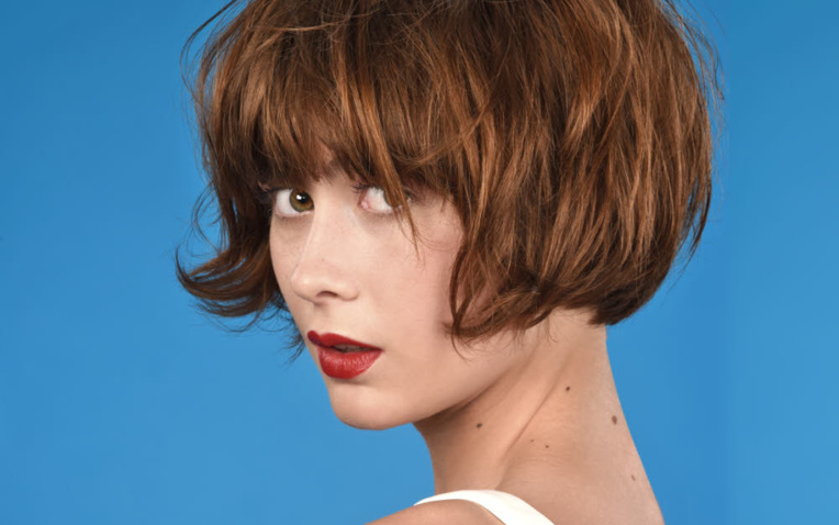 Coupe et coiffure pour cheveux mi-longs Eric LETURGIE - Printemps-été 2020.