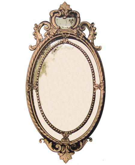 Miroir trompe-l'oeil Provence et Fils