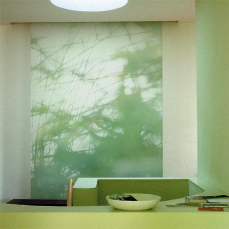 Papier peint Kathrin Kreitmeyer - collection de 5 motifs floraux © M&O