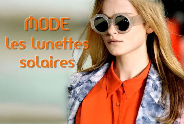 été 2012 : des montures de lunettes solaires toutes en couleurs