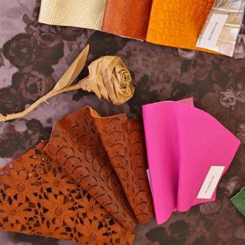 les nouveautés du cuir italien présentées en avant-première à Paris