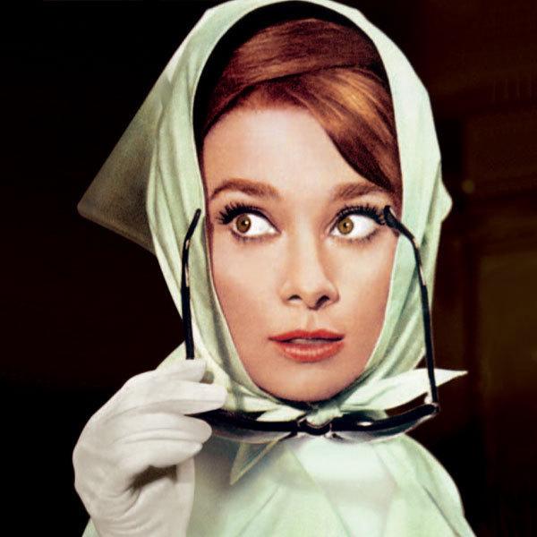 Audrey Hepburn dans Charade, 1963, de Stanley Donen.