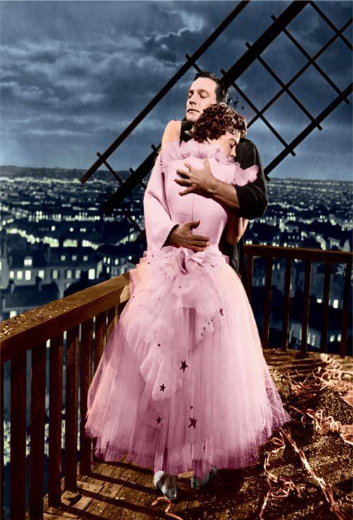Gene Kelly et Leslie Caron dans Un américain à Paris