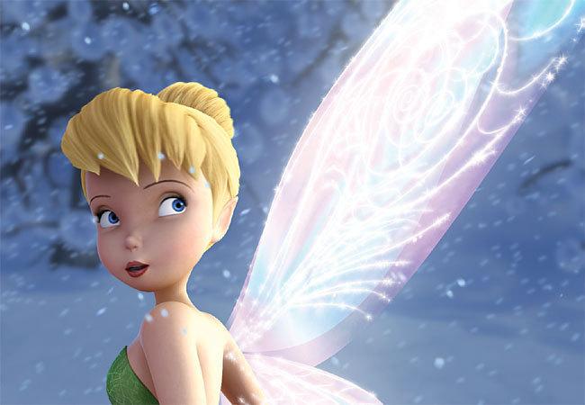 Les ailes de Clochette se couvrent de givre dans 'Clochette et le Secret des Fée's