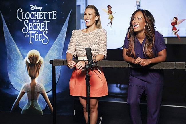 Lorie Pester et Amel Bent doublent Clochette et Cristal dans 'Clochette et le Secret des Fées'