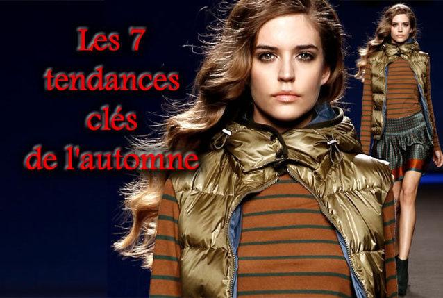 les 7 tendances clés de la mode automne-hiver 2012-2013