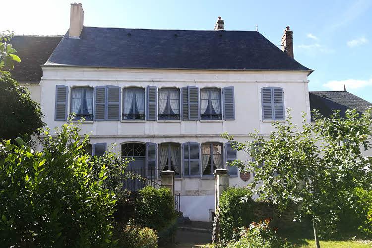 La maison où Colette est née à Saint-Sauveur-en-Puisaye © ABCfeminin.com.