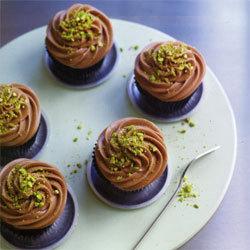 recette cupcakes pistaches et pépites de chocolat
