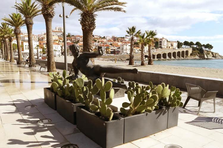 BANYULS-sur-Mer - 'L'air', sculpture d'Aristide Maillol © ABCfeminin.com.