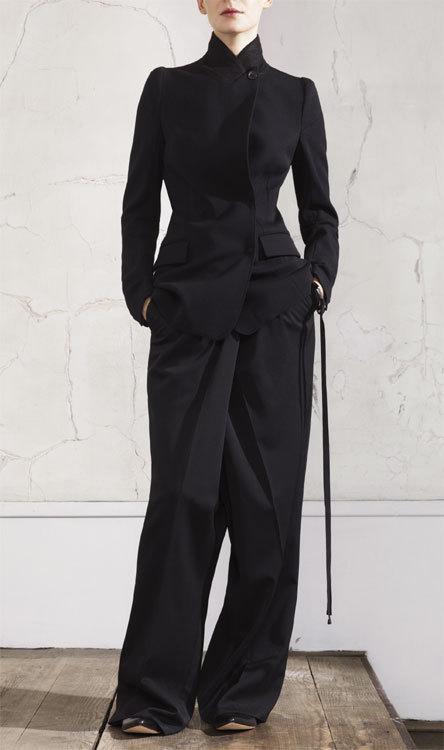 Blazer et pantalon Maison Martin Margiela chez H&M