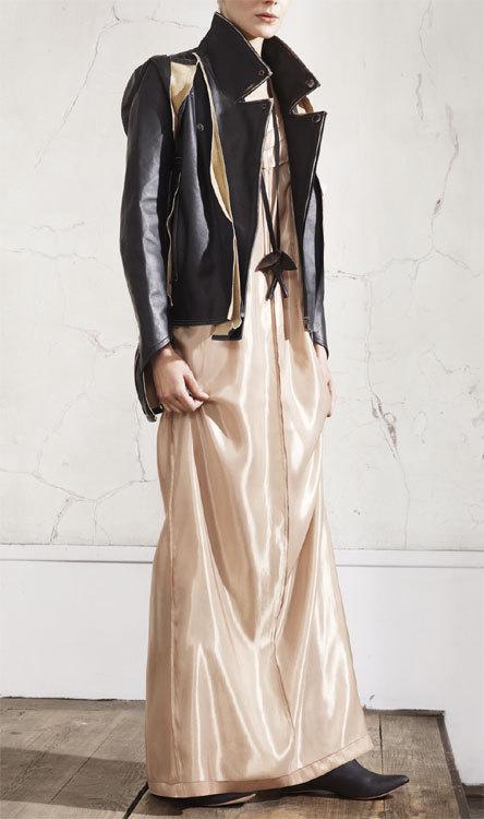 Robe et blouson de cuir Maison Martin Margiela chez H&M