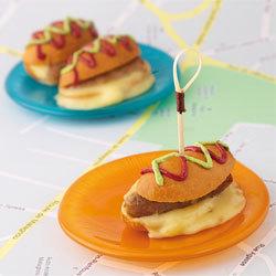 recette farandole des petits 'Hot Dog au Vacherin Mont d'Or AOC'