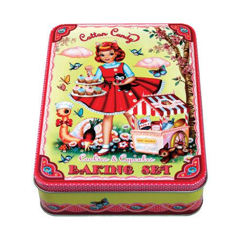 Coffret 'Fabrique de cupcakes'