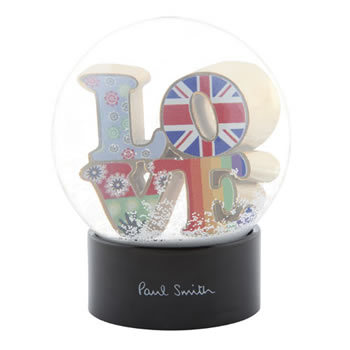 Snowglobe Paul Smith