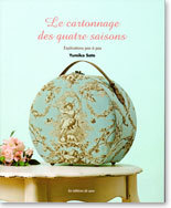 Le Cartonnage des quatre saisons de Yumiko Sato - Les Éditions de Saxe