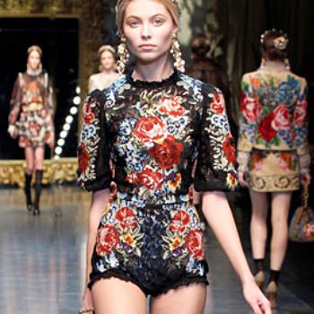 Défilé Dolce & Gabbana automne-hiver 2012-2013