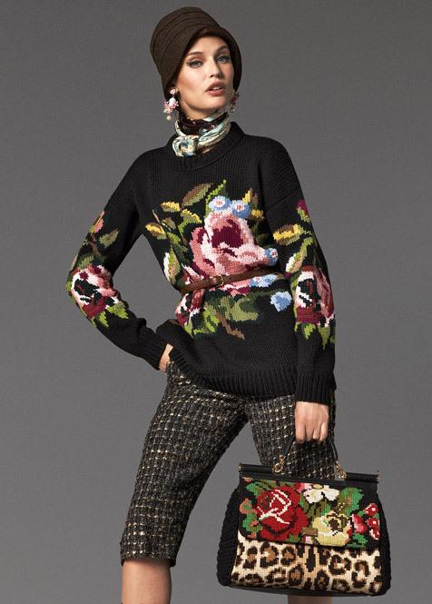 Pull jacquard Dolce & Gabbana