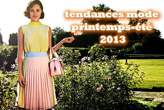 tendances mode printemps-été - création Ted Baker