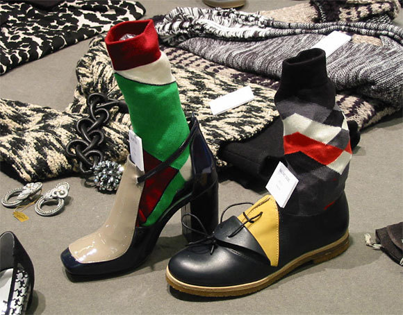TENDANCE chaussures + chaussettes - collection automne-hiver 2013-2014