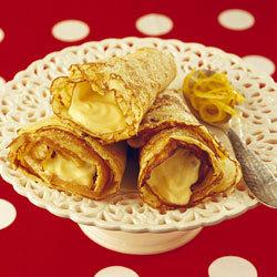 recette crêpes à la crème au citron