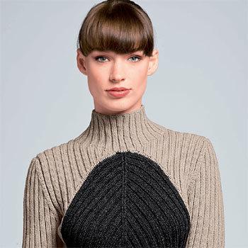 Pull côtelé à tricoter - explications gratuites - création Bergère de France