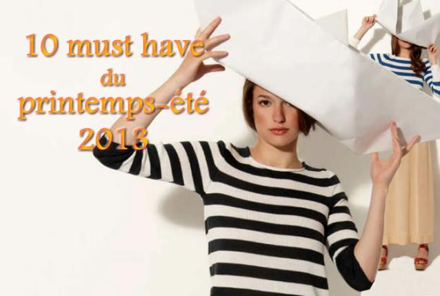 les 10 tendances clés de la mode printemps-été 2013