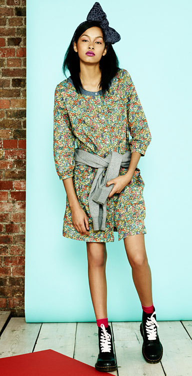 Robe de la collection Levi's® X Liberty London