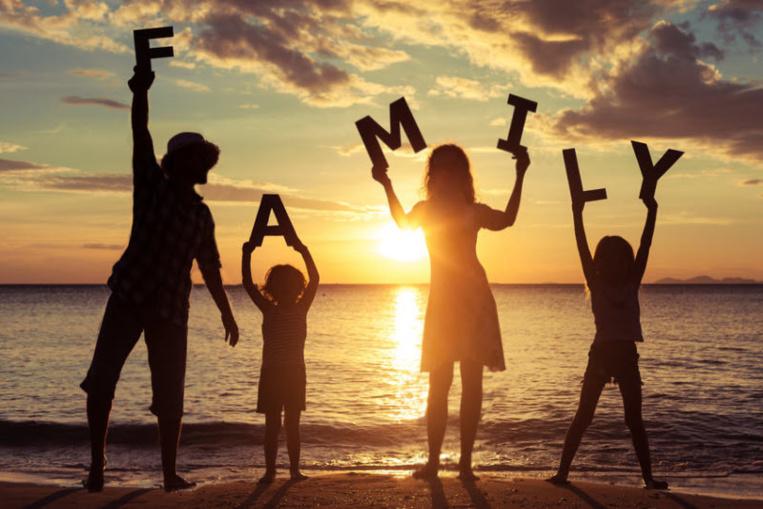 En famille avec plus de temps libre.