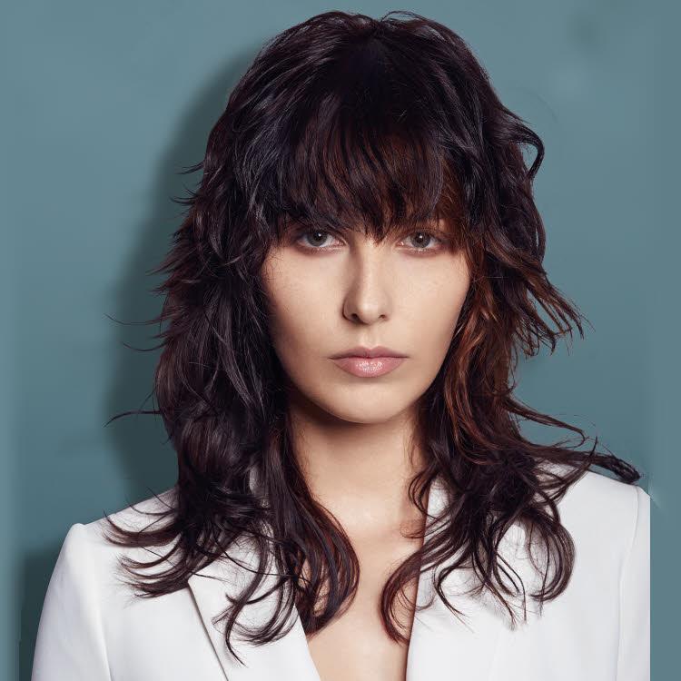 Coupe et coiffure pour cheveux longs Mon Coiffeur Exclulsif - Automne-Hiver 2020-2021.
