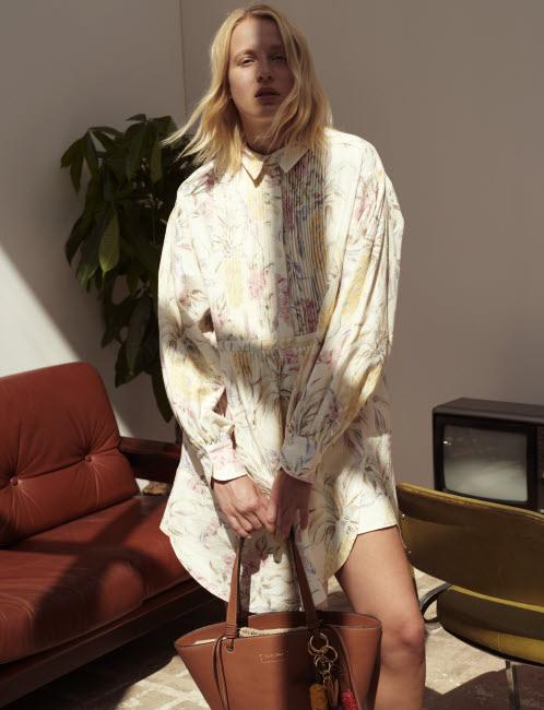 Tendance clé : la robe-chemisier - Look See by Chloé.