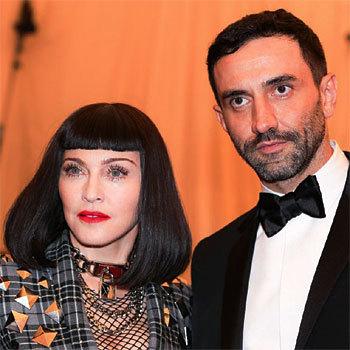 Madonna et Riccardo Tisci au Gala du MET à New York